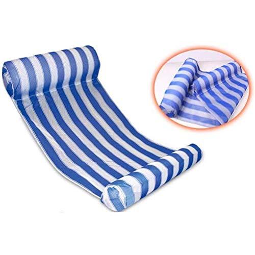GFPR Swimming Pool Float Hammock, Multi-purpose Inflatable Hammocks (inflatable Floating Bed, Floating Chair) 132 * 70cm
