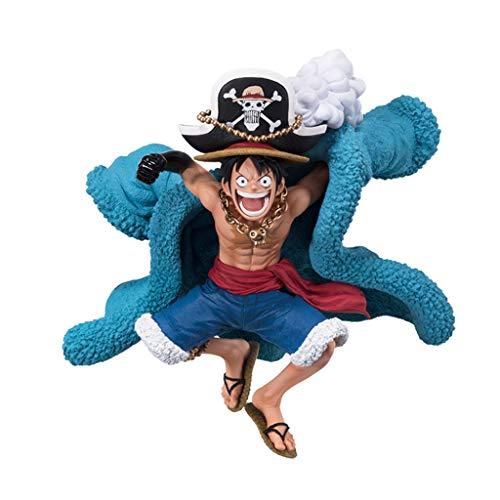 LULUDP Dragon Ball Une Pièce 20ème Anniversaire Chapeau De Paille Luffy Modèle Poupée À La Main Souvenir Cadeau Jouet Collection Modèle Artisanat Lieu 11.5 cm
