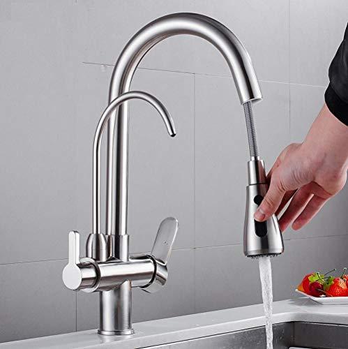 Keukenarmaturen Torneira Para Cozinha Kran voor waterkraan keukenwaterfilter drieweg spoelbak mengkraan keukenkraan