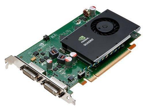 PNY  Quadro FX 380 Grafikkarte (PCI-e, 256MB GDDR3 Speicher, 2X DVI-I  (2X DL), 1 GPU)