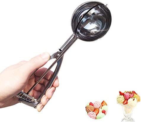 Larger Ice Cream Scoop Stainless Steel Cookie Scoop Melon Meat Baller Muffin Scoop Potato Masher product image
