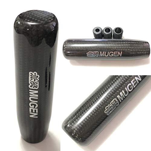 Carbon Fiber Manual JDM Mugen 13CM shift knob for HONDA RSX CIVIC Type R S2000