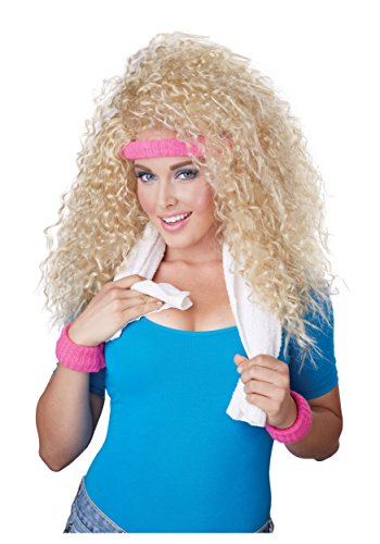California Costumes Women's Let's Get Physical Wig Headband