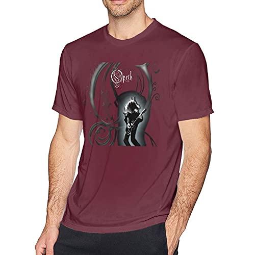 Yaxinduobao Opeth T Shirt Uomo novità Cotone Girocollo Manica Corta Graphic Tees