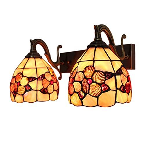 Aplique Pared Con Bombilla Lámpara de Pared Iluminación Interior retro Para Interior Lámpara de Baño, Salón, Dormitorio, Escalera, Pasillo