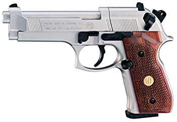 Beretta 92FS Nickel Wood Grips air pistol