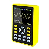 ARCELI 5012H 2.4'Osciloscopio Digital portátil portátil de Mano con Pantalla LCD, con Ancho de Banda de 100MHz y frecuencia de muestreo de 500MS / s