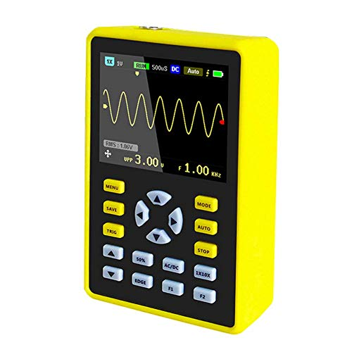 "ICQUANZX 5012H 2.4"" LCD Display Screen Handheld Portable Digital Mini Oscilloscope with 100MHz Bandwidth and 500MS/s Sampling Rate Tool Measuring Instruments"