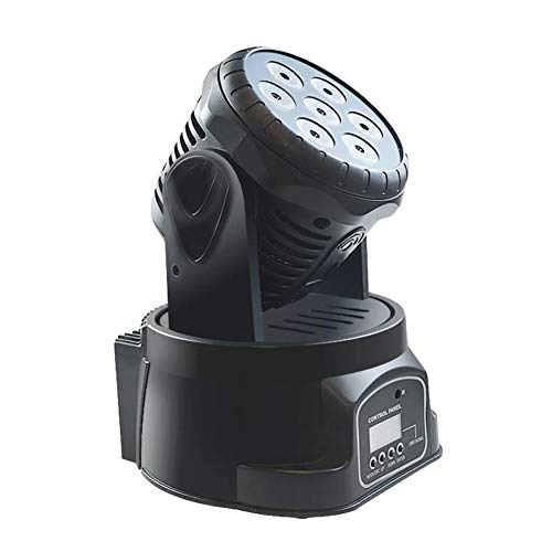 Skysep Warm Moving Head Stage Light 7x10W RGBW LED with Auto Remote DMX512 Control Modes for DJ Disco Bar Party Ballroom Halloween Christmas with Remote Control Romantic