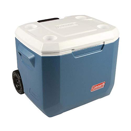 Coleman 50QT Kühlbox Xtreme Wheeled 47L blau/weiß