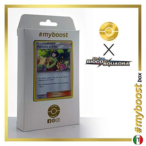Ospitalità di Erika (Hospitalité d'Erika) 140/181 Holo - #myboost X Sole E Luna 9 Gioco di Squadra - Coffret de 10 Cartes Pokémon Italiennes