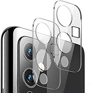 Muzz One Plus 9 Camera Lens Protector, Ultra Slim Clear Crystal High Definition Anti-Scratch Bubble-Free Camera Lens Prote...