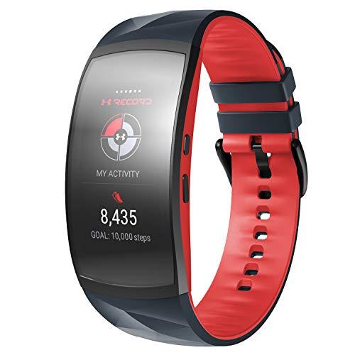 s2 Classic Fitness Smartwatch Bracelet bleu en silicone pour Samsung Gear Sport