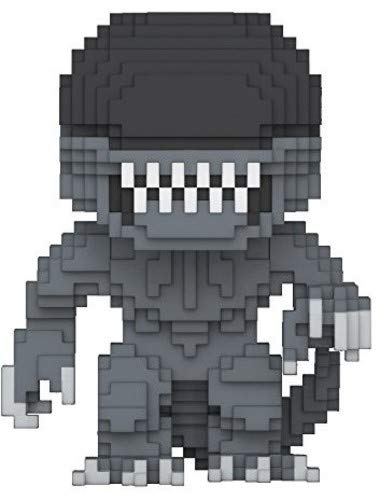 Funko- Pop Vinile 8-Bit Alien Action Figure, Horror, 9 cm, 24597