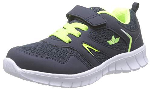 Lico Jungen Skip VS Sneaker, Blau (Marine/Lemon Marine/Lemon), 31 EU