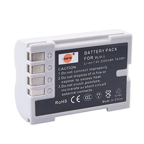 DSTE Repuesto Batería Compatible para Olympus PS-BLM5 BLM-5 E1 E5 E3 E300 E330 E500 E510 E520 C-8080 C-7070 C-5060 Digital Cámara
