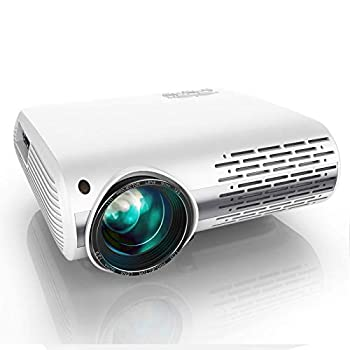 YABER Y30 Native 1080P Projector 8500L Brightness Full HD Video Projector 1920 x 1080 ±50° 4D Keystone Correction Support 4k & Zoom,LCD LED Home Theater Projector Compatible with Phone,PC,TV Box,PS4