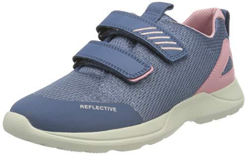 Superfit Baby Mädchen Rush Lauflernschuhe Sneaker, Blau (Blau/Rosa 81), 22 EU