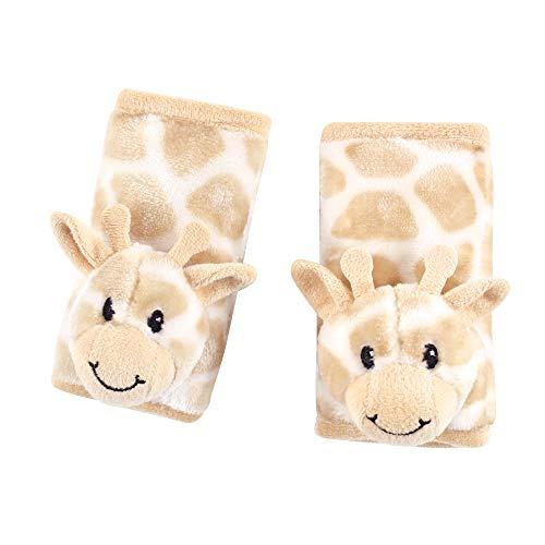 Hudson Baby Capas de alças acolchoadas unissex para bebês, girafa, tamanho único