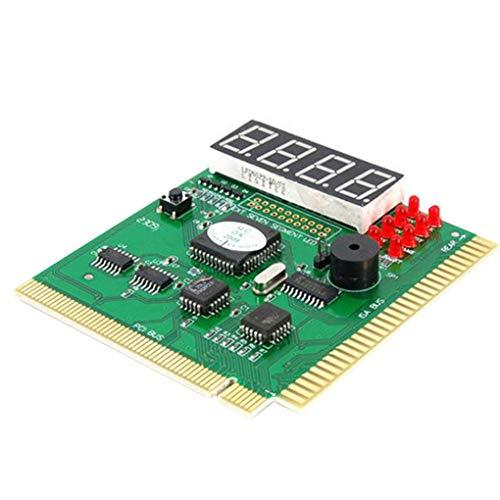 Rekkle Motherboard Tester Diagnose Display 4-stellige PC-Board-Computer Mutter Debug Postkarte Analyzer