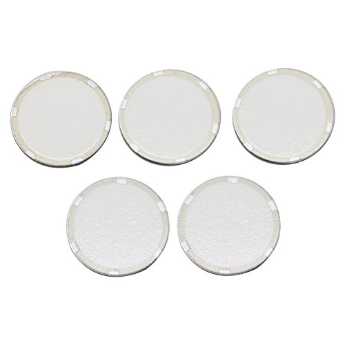 siwetg 5 piezas de 16 mm Fogger ultrasónico disco de cerámica de la hoja del atomizador humidificador accesorios 16 mm atomizador humidificador hoja atomizador más rollo de burbujas