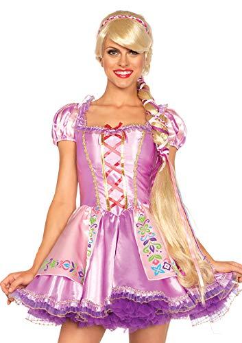 Leg Avenue- Rapunzel Mujer, Color rubia, Talla Única (EUR 36-40) (A267422220)