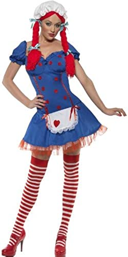 salida Fever Ragdoll Costume Woman Woman Woman Sexy Fancy Dress  tienda en linea