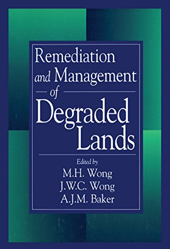 Remediation and Management of Degraded Lands (English Edition)