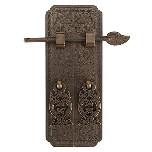 Tirador de puerta de cobre antiguo - Herrajes para muebles d
