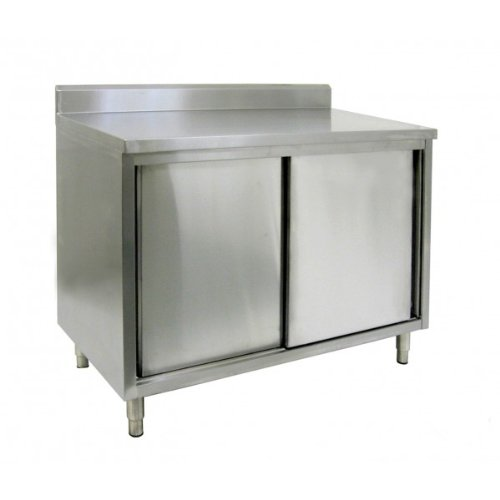 Reviews Of ACE Gauge All Stainless Steel Cabinet Rear Upturn - Stainless steel work table price