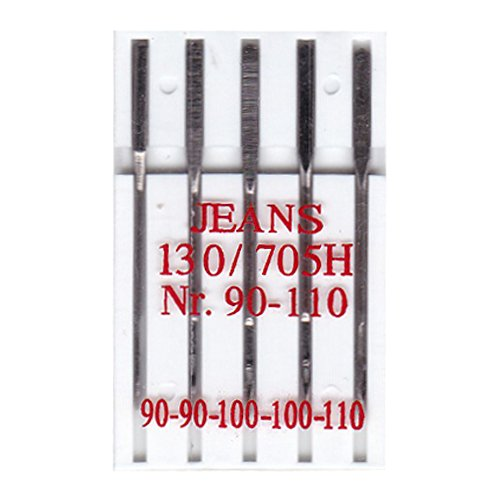 Big-Sam 10002–5Jeans Máquina de Coser Agujas–130R/705H–Nº 90–110