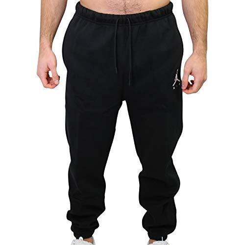 Nike Herren Sport Trousers M J Jumpman Fleece Pant, Black/(White), XL, CK6694