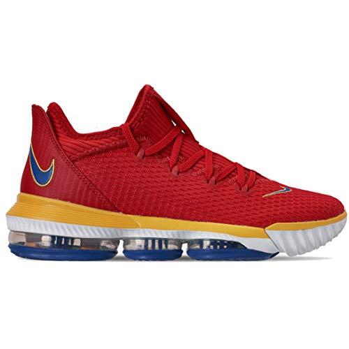 Nike Lebron 16 - Zapatillas de Baloncesto, Rojo (Universidad Rojo/Varsity Royal), 52 EU