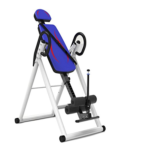 Learn More About A&Dan Gravity Inversion Table, Foldable Back Neck Pain Relief Upside Down Stretchin...