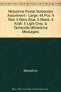 Moleskine Postal Notebooks Assortment - Large (Moleskine Messages)