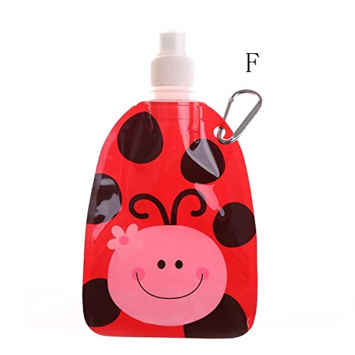 Berrd 1 unid protección Ambiental Plegable Botella de Bebida de Viaje de...