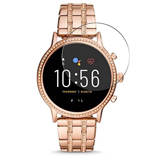 Vaxson 3 Stück 9H Panzerglasfolie, kompatibel mit Fossil Q Julianna HR Gen 5 Panzerglas Schutzfolie Displayschutzfolie Bildschirmschutz Intelligente Uhr Armband Smartwatch
