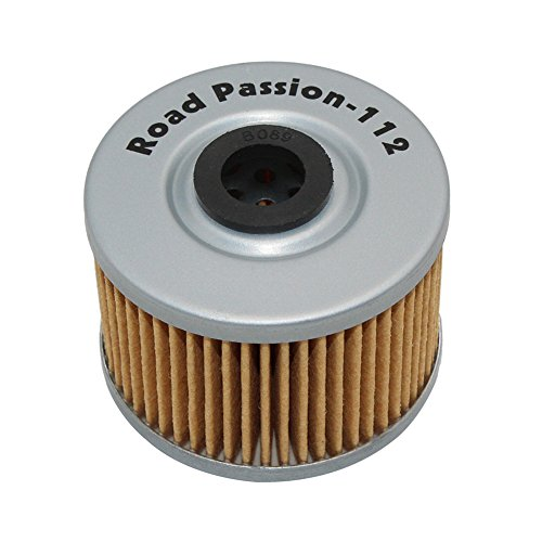 Road Passion High Performance Oil Filter for HONDA CBR250R 11-13 CRF250L 13-15 TRX250 X 87-92 CB300F CBR300R 15-17 TRX700XX 08-09(pack of 4)