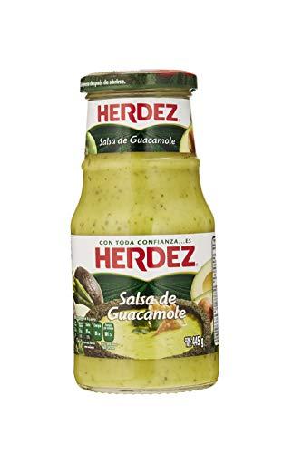 Guacamole-Sauce aus Mexiko, Glas 445g - Salsa de Guacamole HERDEZ 445g