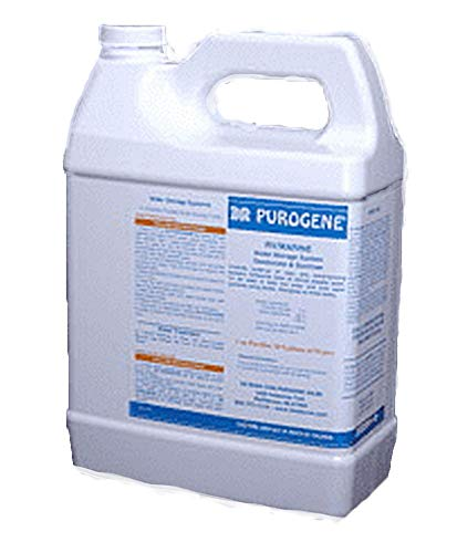 128oz Purogene Drinking Water Treatment and Water System Sanitizer. Eliminates Bacteria in Water, Sanitizes Water Storage Systems, Provides for Long-Term Storage of Drinking Water