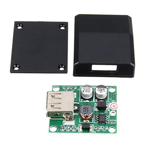 SHANG-JUN Fácil de Montar 5pcs Panel de Bricolaje 5V 2A Regulador de Voltaje Caja de Conexiones Cargador Solar Kit Especial for electrónico de la producción Conveniente
