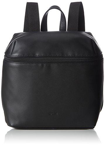BREE Damen Vora 4, Backpack M Henkeltasche, Schwarz (Black), 12x27x23 cm