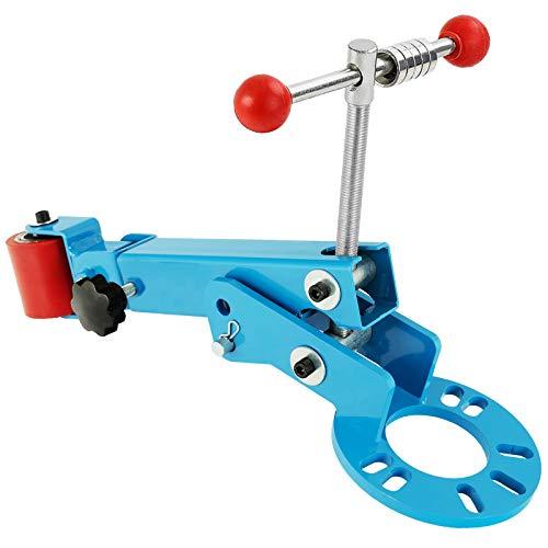 SUNCOO Fender Roller Tool, Fender Reforming Extending Tool,Remove Tire Rub for Car Truck,Blue