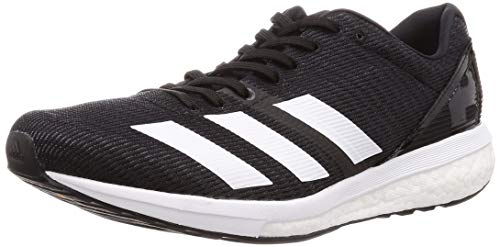 adidas Men's Adizero Boston 8 M Trail Running Shoes, Black (Negbás/FTW Bla/Grisei 000), 12 UK