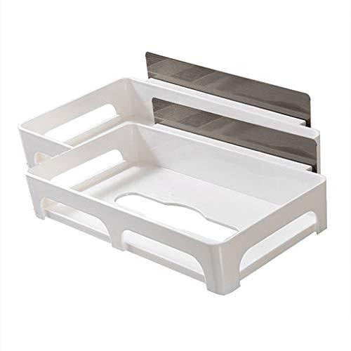 Sujetador de papel de baño Toallero De Papel Adhesivo Que No Deja Marcas Toallero De Papel Adhesivo (sin Taladrar) Soporte De Papel De Cocina Montaje (Color : 2pcs)