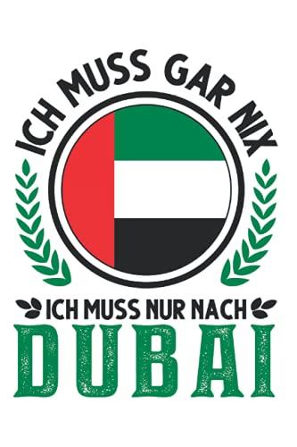 Dubai Notizbuch: Dubai Urlaub Vereinigte Arabische Emirate Reise / 6x9 Zoll / 120 gepunktete Seiten Seiten