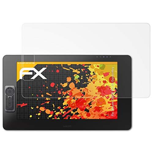 atFoliX Pellicola Proteggi per Wacom CINTIQ PRO 24 ExpressKey Protezione Pellicola dello Schermo, Rivestimento antiriflesso HD FX Protettore Schermo (2X)