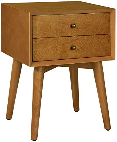 Crosley Furniture Landon Night Stand, Acorn