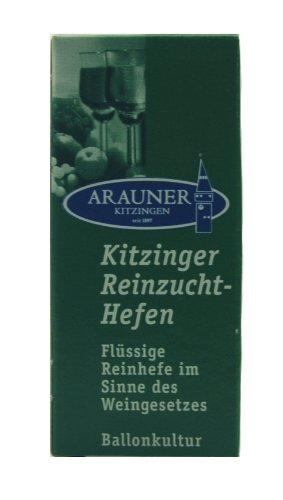 Arauner Kitzinger Reinzucht-Hefen Portwein, Art. 0007, für 50 Liter