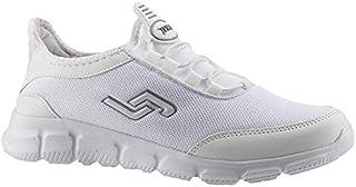 Jump 15529-G Beyaz Fileli Günlük Yürüyüş Erkek Spor Ayakkabı